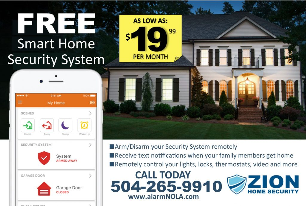 1 Flyer - Home Security